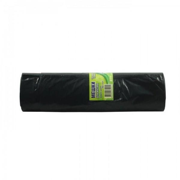 Мешки для мусора с ручками 30л 20шт Домовенок ПНД 16мкн
