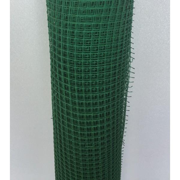 Решетка садовая 15х15мм ХАКИ ЭКО(1х20м)