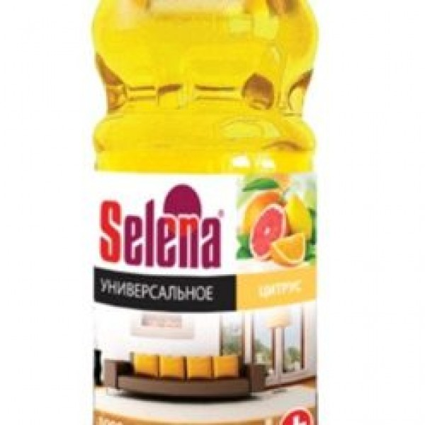 Selena Антибактериально средство для полов 1л Цитрус