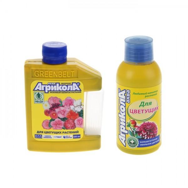 Агрикола Аква для цветущих 250мл Грин Белт
