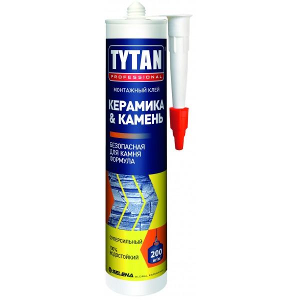 Клей монтажный Керамика и Камень TYTAN Professional 310мл   белый