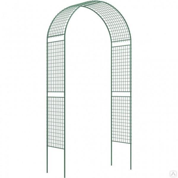 Арка Сетка широкая садовая разборная 2,5*0,5*1,25м труба 16мм