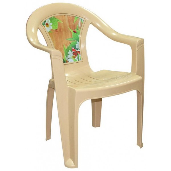 """Кресло """"Летний день"""" (беж) (Альтернатива) М2640"""