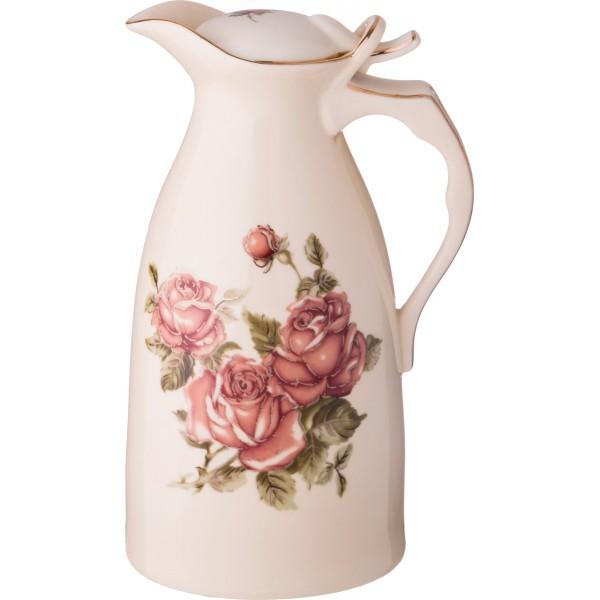 Кувшин 1л Корейская роза 22см 797-036