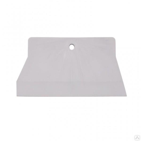 Шпатель резиновый белый 150мм БИБЕР 35269