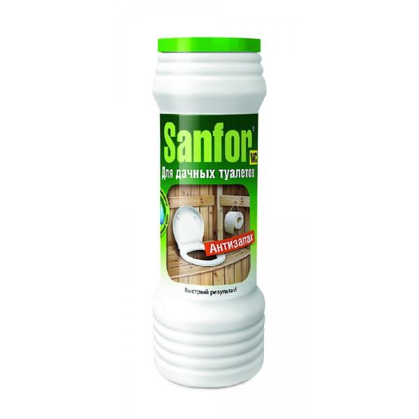 Средство дезодирующее для туалетов Санфор 400гр Антизапах