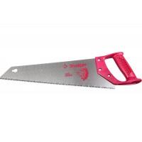 Ножовка по дереву Молния 400мм зуб 5мм закаленный, пласт.ручка