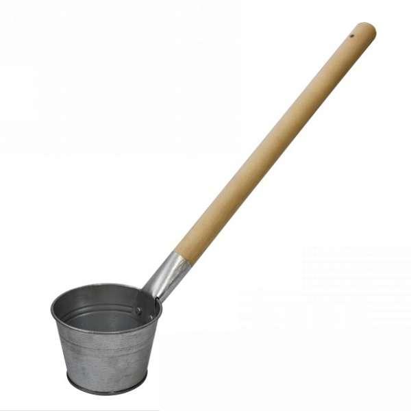 Ковш банный (оцинк.) 0,5л.  (Лысьва)