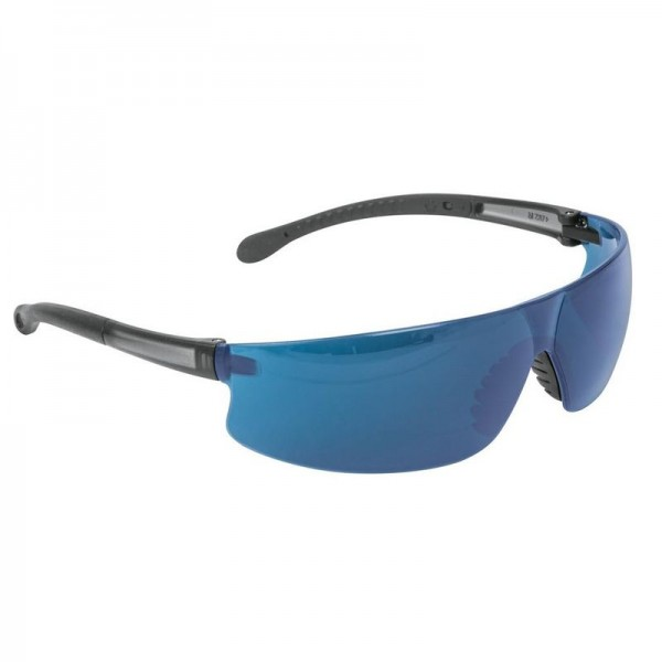 Очки защитные ТРУППЕР синие (поликарбонат) LEN-LZ 10819