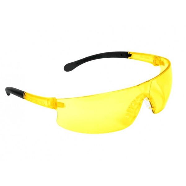 Очки защитные ТРУППЕР спортивные ,желтые (поликарбонат) LEN-LA 15295