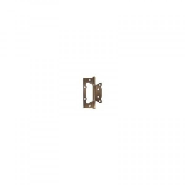 Петля ROSSI бабочка 125х2.0 без врезки бронза на блистере  (цена за 2шт) в упа