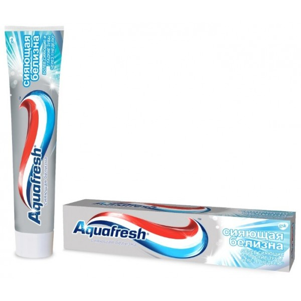 Зубная паста Аквафреш 3+ Сияющая белизна 100мл