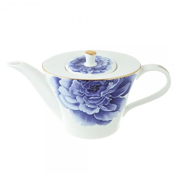 Чайник заварочный 650мл ВИОЛЕТА костяной фарфор 802-289