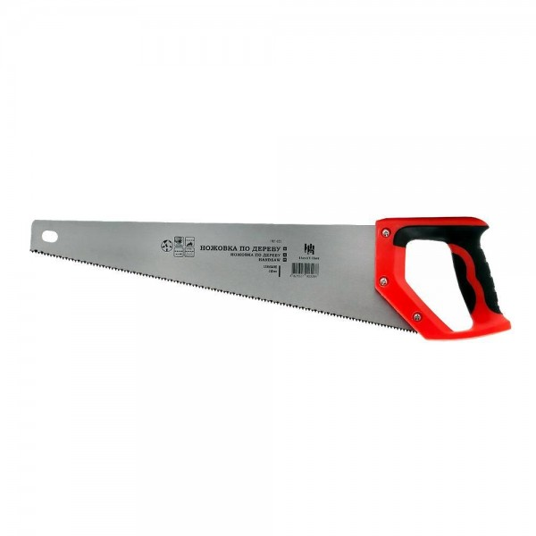 Ножовка по дереву SPARK LUX 450мм 8мм закаленный зуб, стальн.ручка