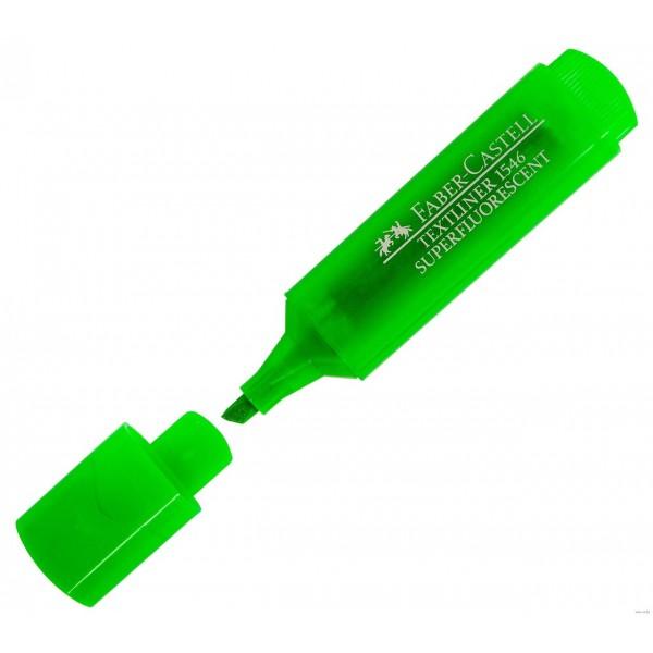 Маркер текстов inФОРМАТ 1-4 мм зеленный, скошенный