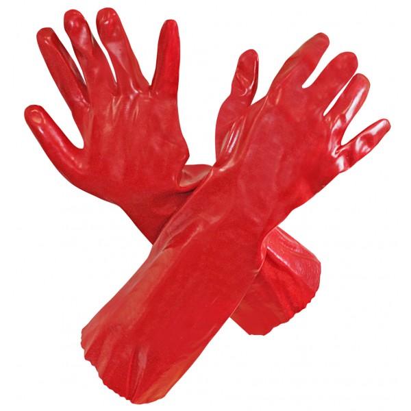 Перчатки маслобензостойкие МБС длинные 44см