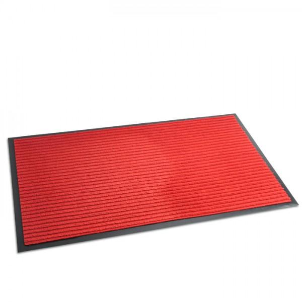 Коврик влаговпит.ребристый (60х90см) красный