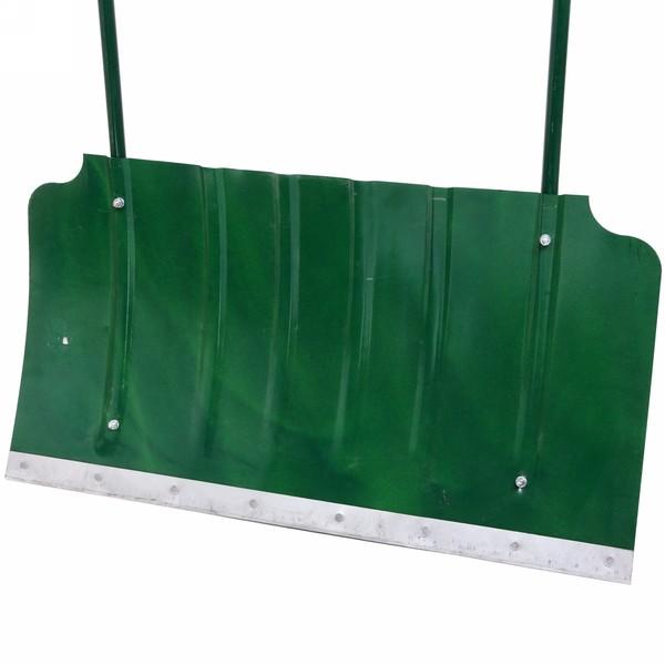 Скрепер (движок для снега) 750х428 S-0,8мм стальной форм.окрашенный порошком,с ребрами жесткости