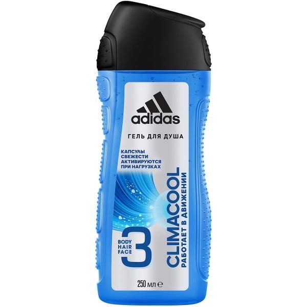 Гель для душа adidas 250мл капсулы свежести