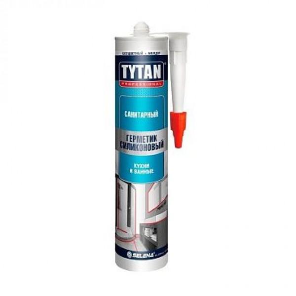 Герметик TYTAN PROFESSIONAL силиконовый санитарный прозрачный 310мл