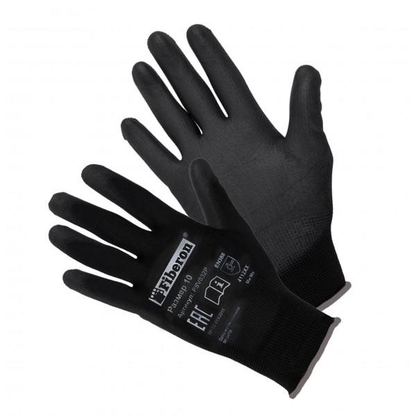 Перчатки полиэстеровые черные РSV036P