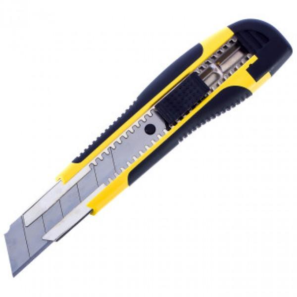 Нож строительный 25мм OXCRAFT