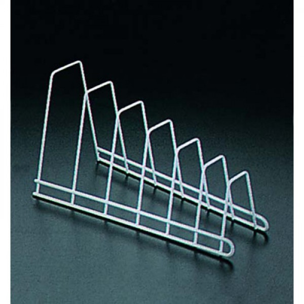 """Подставка для крышек подвесная (сталь с полимерным покрытием""""зеркальный хром"""",42х23х7,5см)"""