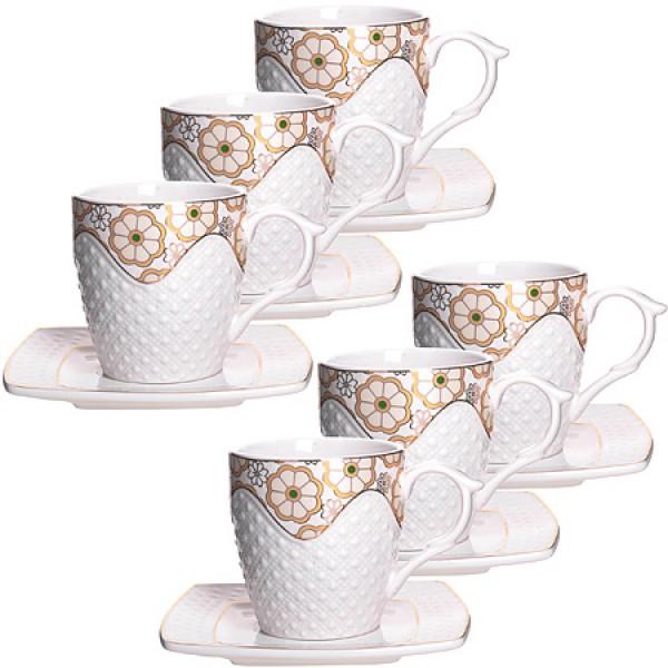 Набор чайный 12пр 220мл, в26833 фарфор