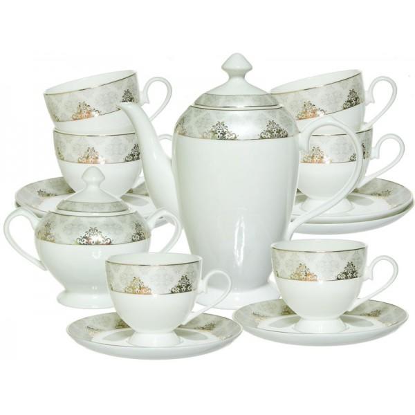 Набор чайный 14пр Версаль о802008 фарфор МИЛИМИ