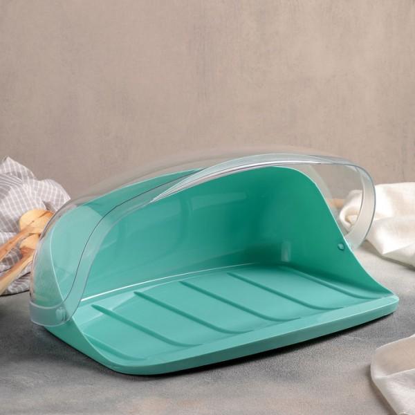 Хлебница IDEA большая (аквамарин)
