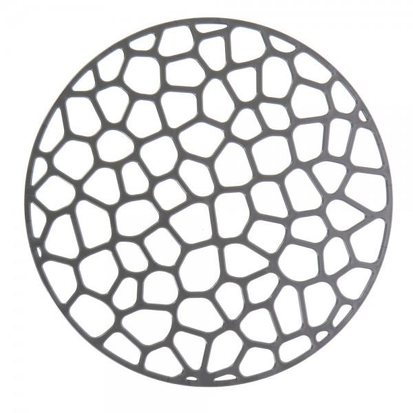 Решетка в раковину круглая D30см