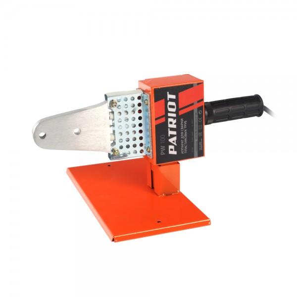 Аппарат для сварки пластиковых труб PATRIOT PW 150 The One, 875Вт, 6 насадок, стойка, отвертка, кейс