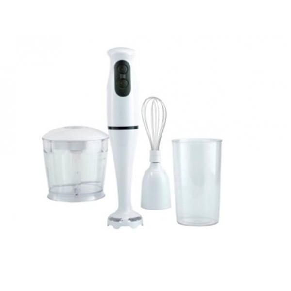 Блендер ручной KL-5020 белый  KELLI (350Вт,2 скор, измельчитель 0,5л, мерный стакан 0,7л)