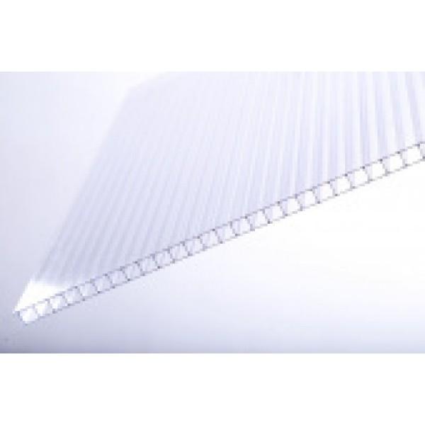 Поликарбонат КАРБОГЛАСС АГРО-18лет плотность 0,60  6000х2100 4мм прозрачный