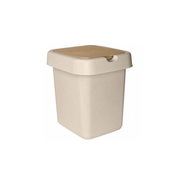 Контейнер для мусора 14л Акварель 1414/129