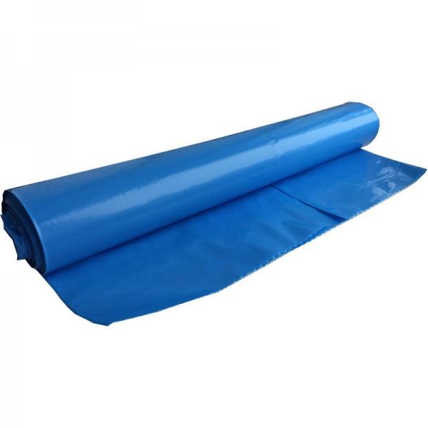 Мешки для мусора ПВД (синий) 200 л 10 шт. в рулоне (без этикетки)