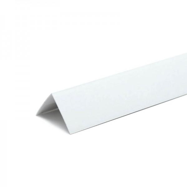 Угол накладной ПВХ 20*20*3000 белый
