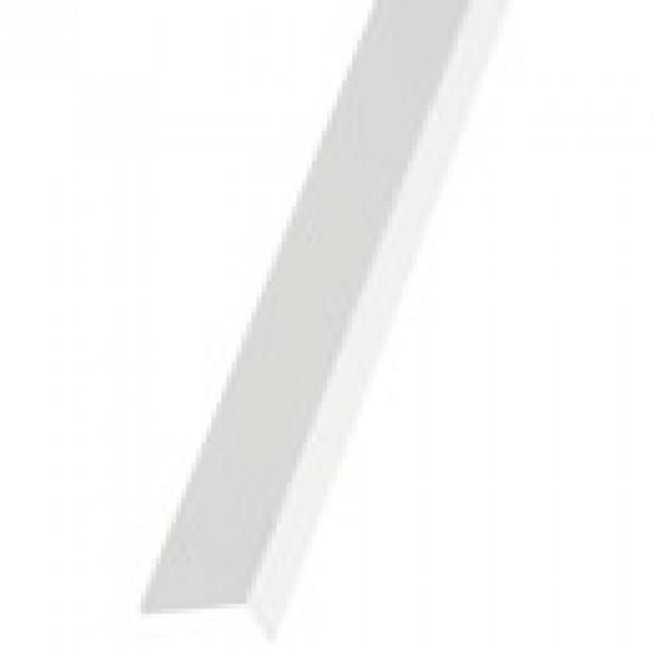 Угол накладной ПВХ 10*10*3000 белый