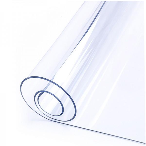 Клеенка термостойкая в рулоне прозрачная, толщина 1,2мм*0,8м*20м