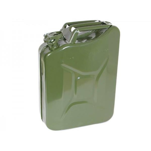 Канистра 10л металлическая (в пакете) вес 2,6кг, 290х400х130мм, сталь 0,8кп, толщ 0,8мм КС-10 Россия