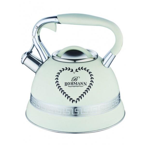 Чайник 3,0л нерж сталь (индукц) BOHMANN ВН-9911