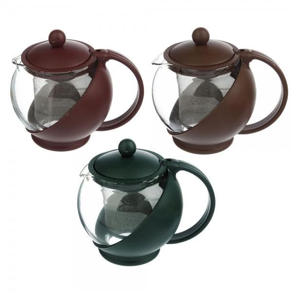 Чайник заварочный 750мл с сеточкой 850-377