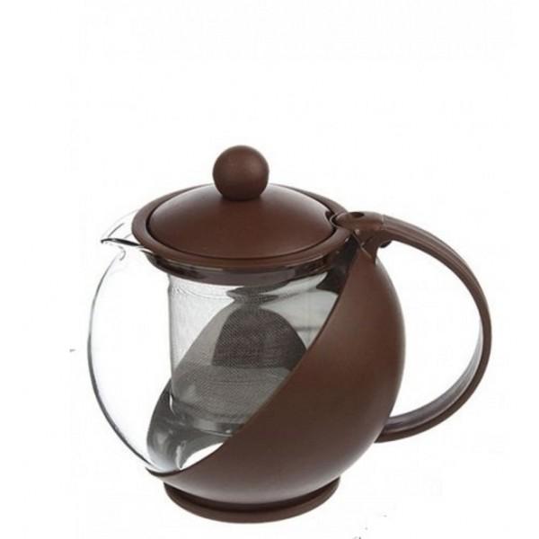 Чайник заварочный 1250мл с сеточкой 850-748