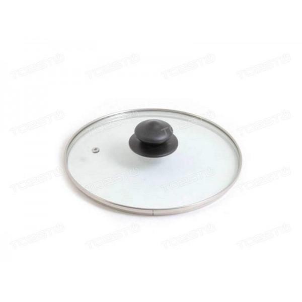 Крышка стеклянная d260мм о/п  кс-005/у590