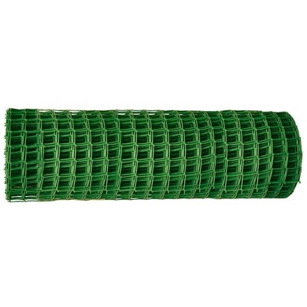 Решетка садовая 25х25мм ЗЕЛЕНАЯ  (1,2х20м)