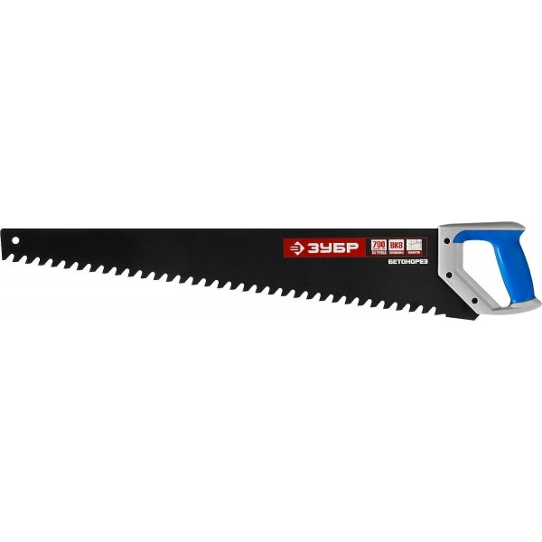 Ножовка по пенобетону 600мм, с твердосп.напайками Lit 5554Г