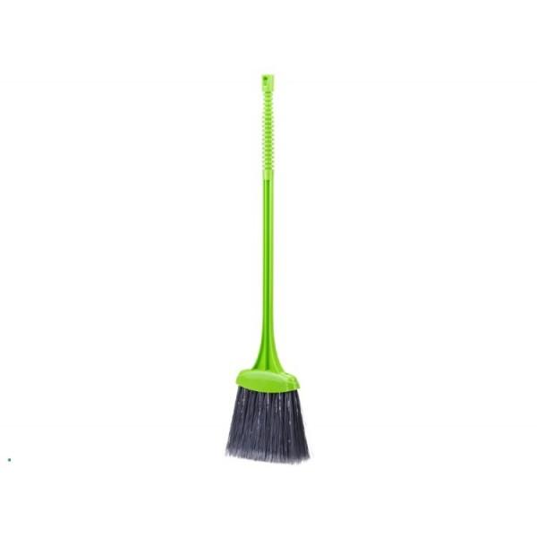 Щетка для пола с черенком ВЕНИК (ярко-зеленый) М5110