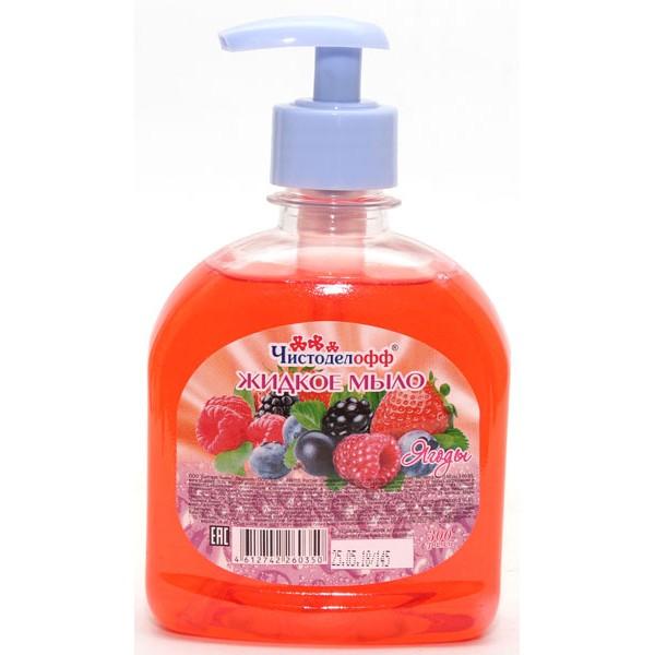 Жидкое мыло 300мл Лесная ягода Чистоделофф
